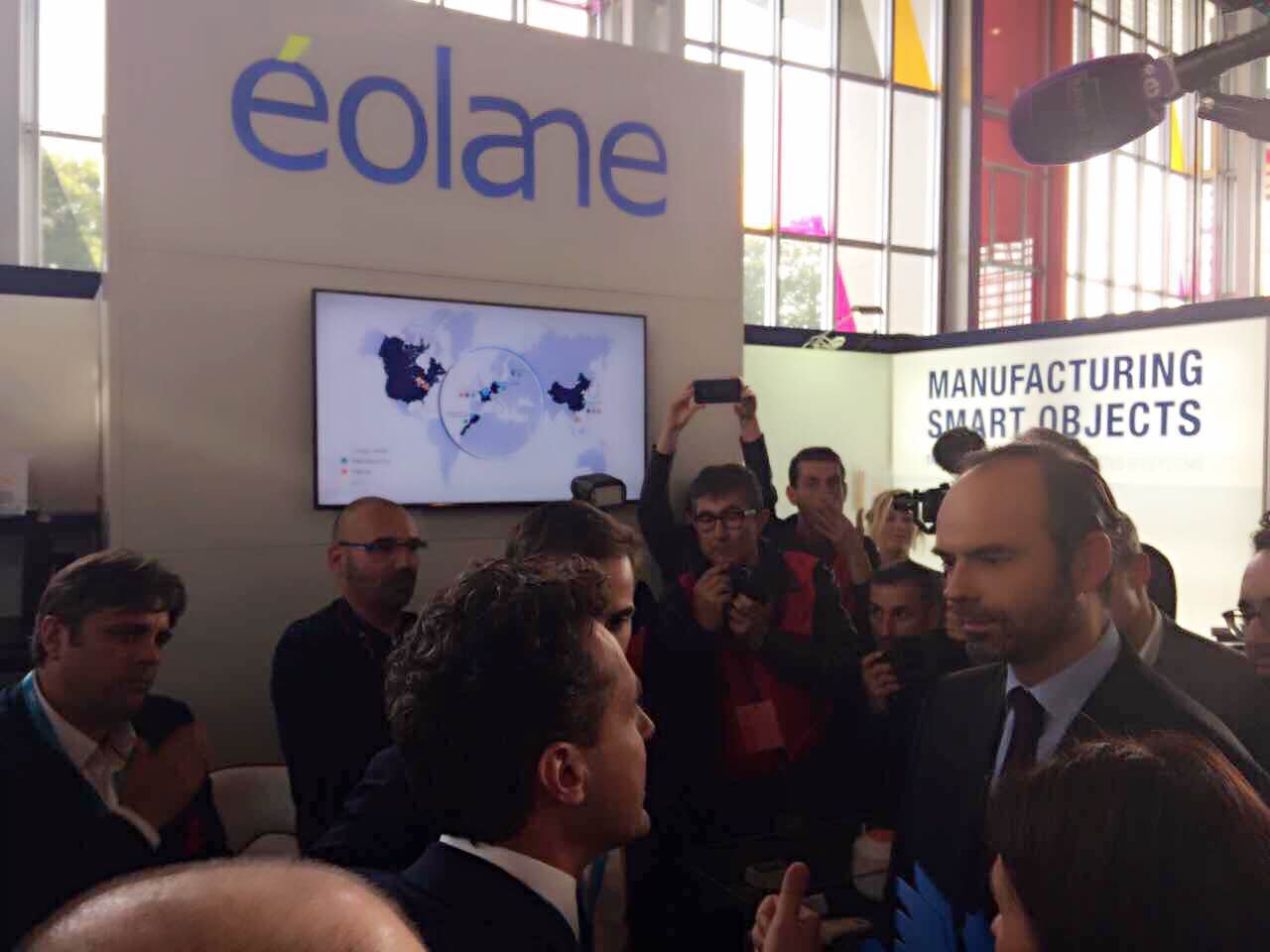 Premier Minister of France Mr. Édouard Philippe Visited Eolane1