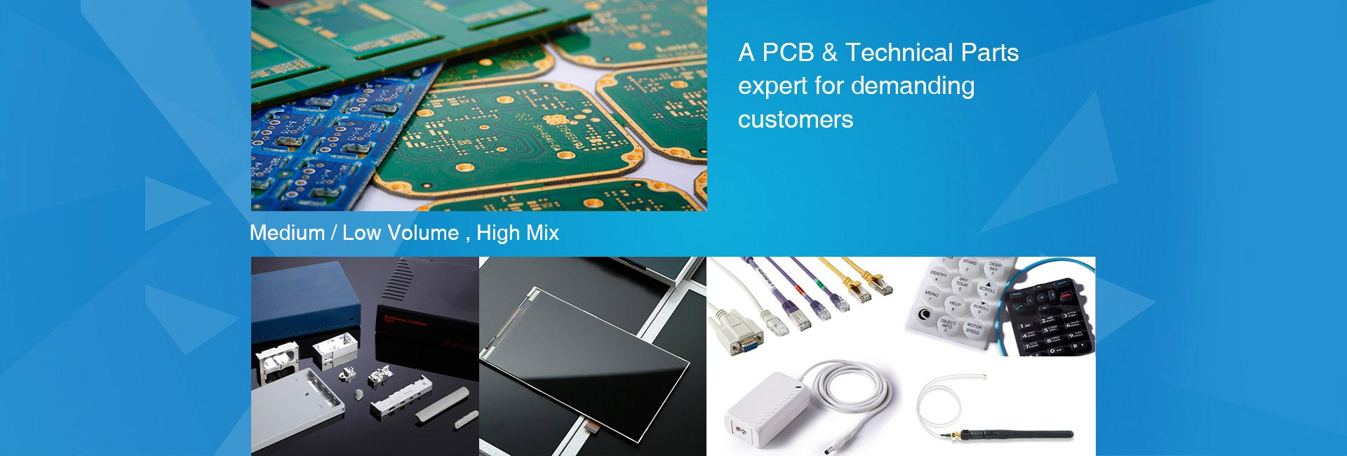 A PCB&Technical parts expert for demanding customers