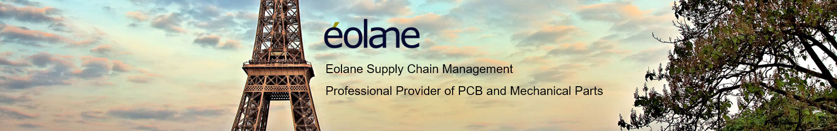 eolane supply chain management professional european leader in PCB&Technical parts